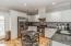 Fabulous kitchen! Stainless steel appliances, gas stove, potfiller
