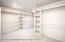 huge master closet (partial pic of it)
