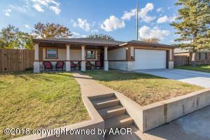 3820 HOLIDAY DR, Amarillo, TX 79109