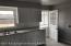 Kitchen & back door.