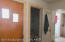 Second Porch and Exit Door Through Hallway with Second Bathroom- Utility Room-Small Bonus Room Located in this Wing of the House
