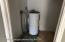 2nd bedroom closet & water heater