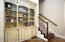 built in cabinetry in great room