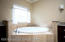decked garden soaker tub