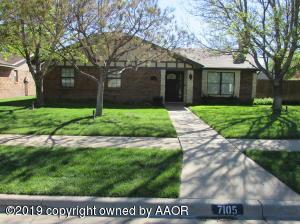 7105 FULHAM DR, Amarillo, TX 79109