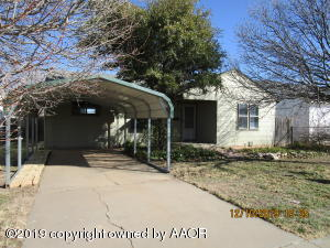 728 N Bradley, Pampa, TX 79065
