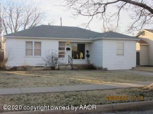 2133 Hamilton, Pampa, TX 79065