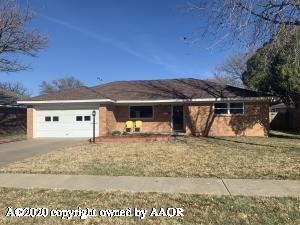 3421 MARION ST, Amarillo, TX 79109