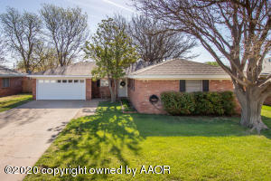 3729 CLEARWELL ST, Amarillo, TX 79109