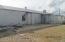 Warehouse with garage door