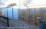 Tall wood fencing, newer,