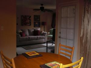 Looking from the Dining area to the Living Room