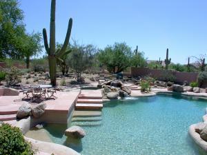 Large Rseort Style Backyard