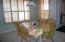 Tile floors and plenty on natural light