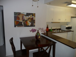 Very Charming 1 BR Unit - Kitchen Dining Area