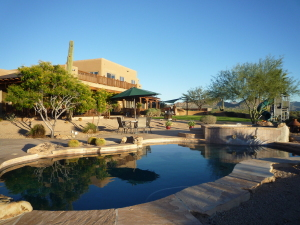 Perfectly laid-out, the outdoor living space is very inviting and designed for enjoyment!