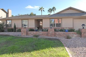 Beautifully remodeled with the features you will adore this Spanish Wells home has picture perfect curb appeal with brick accents and lush green grass.
