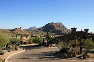 The Rocks Residence Club villas enjoy views of Troon Mountain.