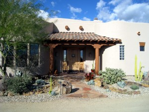 Lovely Santa Fe Style Home With Lots Of Warmth And Ambience.