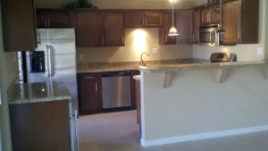 Beautiful Remodeled Kitchen,New GE Energy Saving Appliances,Gas Stove,Built-in Wine Cooler,Counter space galore.