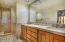 RAISED CABINETS, ALDER CABINETS THROUGHOUT, CUSTOM TILE