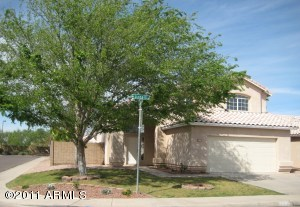 Large corner lot with mature landscaping