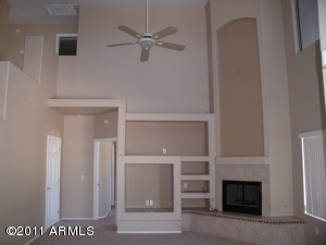 16 foot ceilings in Great Room