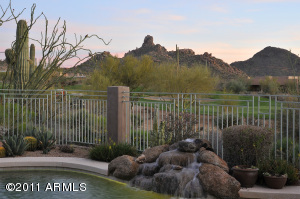 Mesmerizing Pinnacle Peak Views will capture your attention the minute you walk through the entry door!
