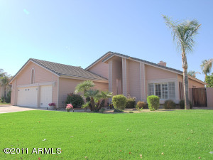 Lushly landscaped and well maintained