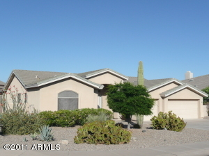 SITUATED ON A CORNER LOT IN A DESIRABLE SUBDIVISION NEAR THE HEART OF FOUNTAIN HILLS