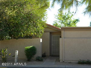Very private 3 bedroom, 2 bath, 2 car garage at The Colony Scottsdale