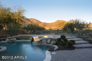 Sparkling pool || Raised Spa || Putting Green || Grassy Play Area || Large Covered Patio || Firepit || Great mountain views ||
