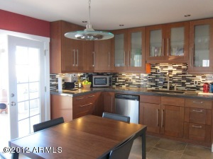 French Doors Add Elegance & Ambiance To 2010 Upgraded Kitchen