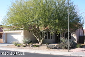 Beautiful shade trees and low maintenance plants greet you as you arrive.