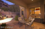 Beautiful entertaining area with excellent views of mountain