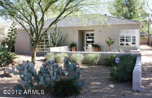 Beautifully landscaped with an easy care design.