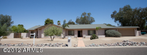 This a great family home located on a large 25,257sf lot. Easy care desert landscaping. Circular drive and RV gate and parking allow for plenty of extra parking.