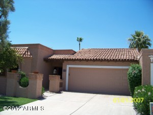 2 Bedroom Scottsdale Az McCormick Ranch (Santa Fe) Town Home For Sale