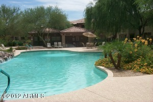 Just a few steps to get to 1 of the Village At Grayhawk Heated Pools/Spas