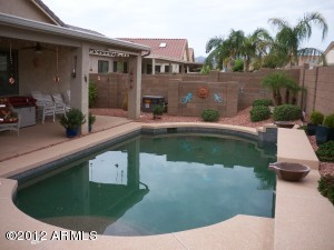 Pebble Tech Saltwater Heated Pool is just one the upgrades this home has to offer.
