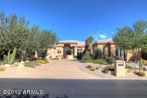 Beautiful Mature Desert Landscaping; Side Entry 3-Car Garage