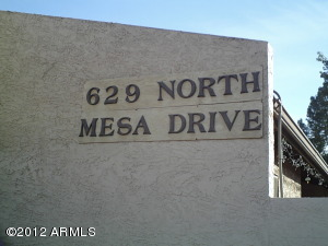 629 N MESA Drive, 4, Mesa, AZ 85201