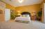 Gorgeous Master Bedroom with Double door entryway