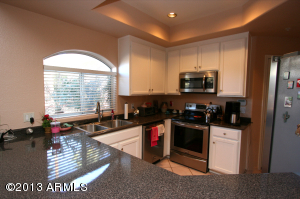 Corner Unit with Window by Sink to look out and enjoy the sunshine! SS appliances!