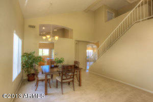 Fabulous architecture in the Formal Living/Dining Room!