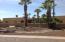 Front desert landscape