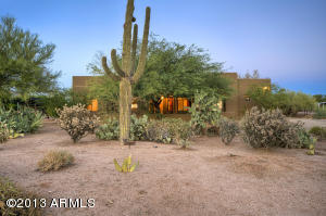 Desert Living at its best. Front of home