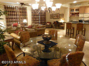 Open Floor Plan with Kitchen, Great Room and Dining