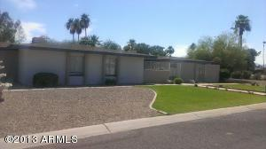 Front of the home facing southwest 12819 W ORANGE DR , Litchfield Park, 85340