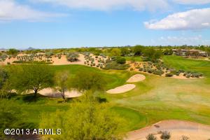 Lush golf course views of the Westin Kierland Golf Course